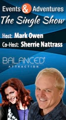 Mark Owen with Co-Host Sherrie Nattrass