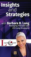 Barbara B. Lang, Managing Principal and CEO, Lang Strategies