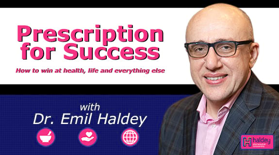 Prescription for Success with Dr. Emil Haldey