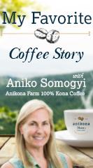 Aniko Somogyi, of Anikona Farm 100% Kona Coffee