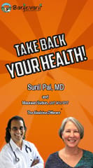 Dr. Sunil Pai, with Co-Host Maureen Sutton