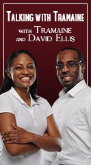 Tramaine Ellis, with Co-Host David E. Ellis III