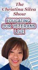 The Christina Silva Show Educating Our Veterans Live