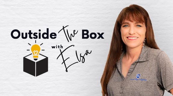 Outside the Box with Elsa