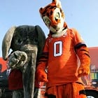 Clemson University, University of Alabama National Wildlife Refuge Assoc. Mascots