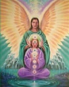 Archangel Raphael and Archeia Mary