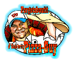 Nicholas Reuben and Penny  Latham, Celebrity Pizza Guy