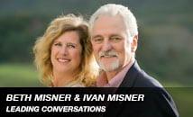 Beth Misner and Ivan  Misner